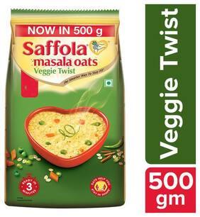 Saffola Masala Oats - Veggie Twist 500 g