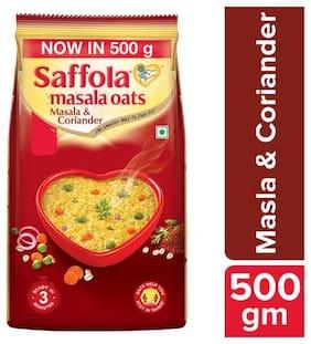 Saffola Masala Oats - Masala & Coriander 500 g