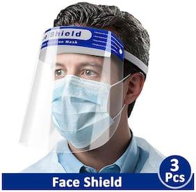Saiitems Innovatives Face Shield (Pack Of 3)