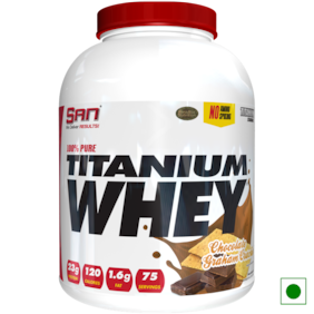 SAN 100% Pure Titanium Whey 5 lb Chocolate Graham Cracker Powder (Pack of 1)