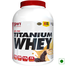 SAN 100% Pure Titanium Whey 5 lb Cappuccino Cream Powder (Pack of 1)