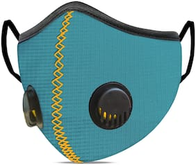 SanNap Anti Pollution Activate N-95 Mask Reusable & Washable With Twin Breathing Valves (Pack of 1)