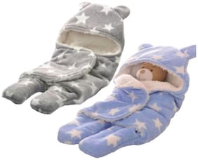 Satpal Sleeping Bag For Babies Pack Of 2