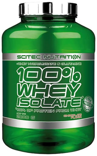 Scitec Nutrition 100% Whey Isolate v2.0- 25g Protein 4.4lbs (Chocolate)