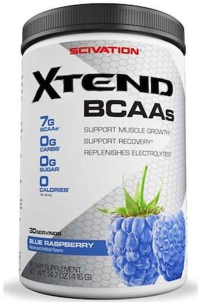 Scivation Xtend BCAAs 30 Servings (416 gm) Blue Raspberry