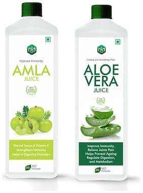 Scorlife Amla Juice 1000ml. & Aloe Vera Juice 1000ml. Sugar Free