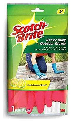Scotch brite Heavy Duty Gloves - Medium