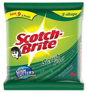 Scotch brite Scrub Pad Large 1 pc
