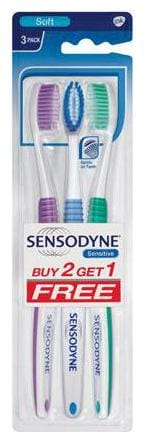 Sensodyne Sensitive Toothbrush 3 pcs