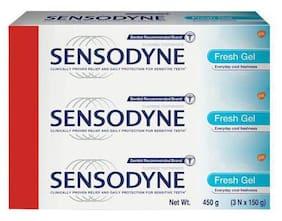 Sensodyne Toothpaste - Sensitive  Fresh Gel 450 g