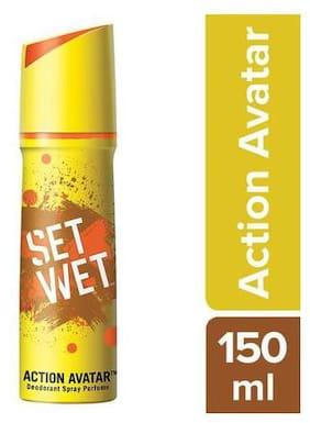 Set Wet Action Avatar Deodorant & Body Spray Perfume For Men 150ml