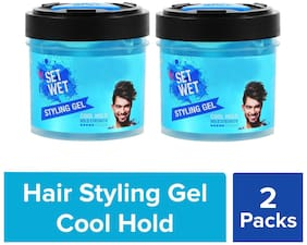 Set Wet Cool Hold Hair Gel, 250 ml(Pack of 2)
