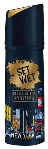 Set Wet Global Edition Perfume Spray For Men - New York Nights 120 ml