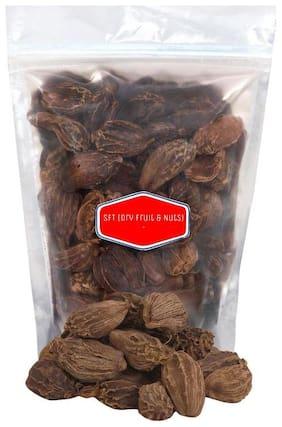 SFT Cardamom Black Whole  (Badi Elaichi, Sabut Elaichi) Grade- Big Size 250 g