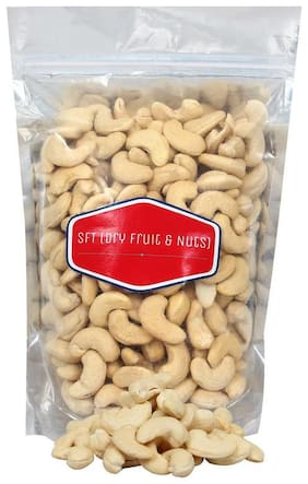 SFT Cashew Kernels  (Pure Mangalore Cashew) Nuts Natural, Good Quality (Kaju Sabut, Whole Cashews) 1 Kg Grade - W 240 No.