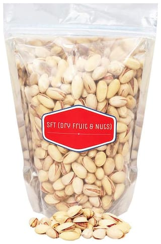 SFT Pistachious  Nut Roasted & Salted, American 100% Pure Organic (Pista) 500 g Grade- King Size