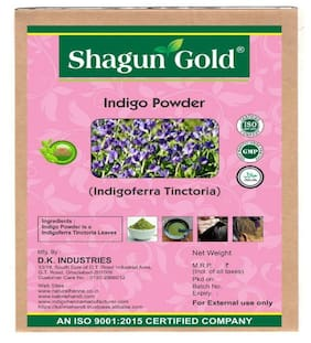 Shagun Gold Natural Indigo Powder 100% Organic 100 g