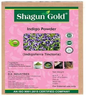 Shagun Gold Organic Indigo Leaf Powder & Organic Henna Twin Combo 400Gram