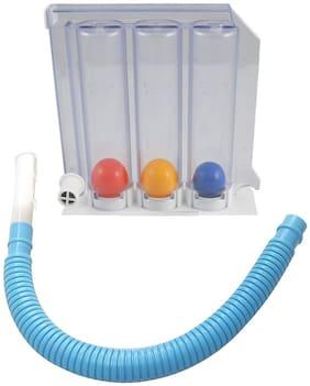 Shakuntla 3 Balls Spirometer Respiratory Lung Exerciser