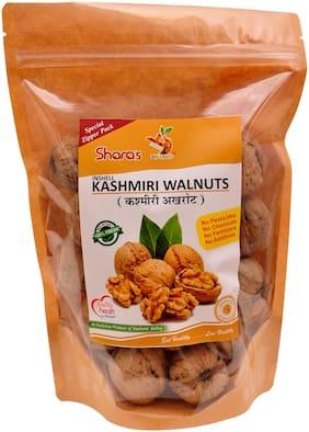 Shara's Dry Fruits Premium Kashmiri Walnuts in Shell(Akhrot) 500g (Pack of 1)