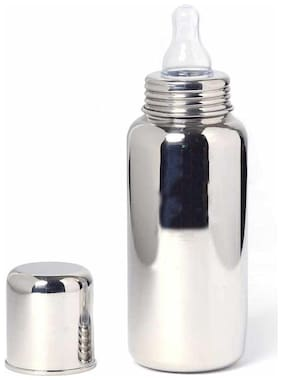 ShineLife Stainless Steel Feeding bottle For baby 350 ml(silver)