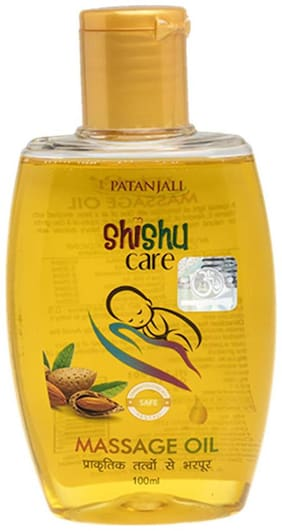 Patanjali Shishu Care Message Oil 100 ml
