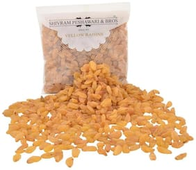 Shivram Peshawari & Bros Yellow Raisins/Kishmish Yellow 250 g