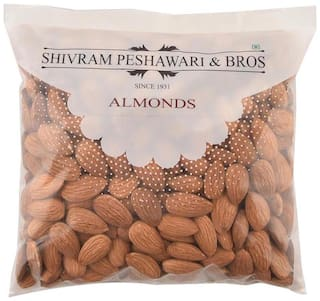 Shivram Peshawari & Bros California Almonds/Badam 250 Grams