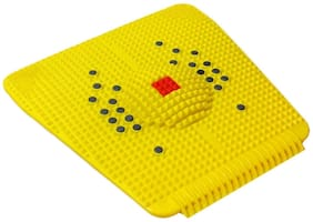 Shopeleven Acupressure Foot Mat with Magnets and Copper for Stress and Pain Relief (pack of 1 )