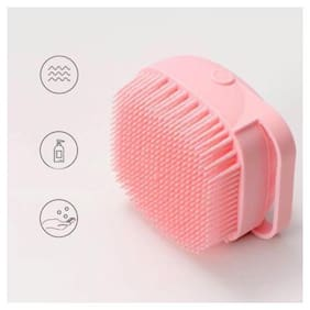 Shopeleven Silicone Body Scrubbers Loofah Brush For Use In Shower Pack Of 1
