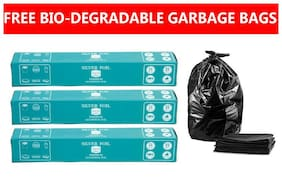 Silver Foil Premium Aluminium Foil Buy Pack of 3(21m) and Get BIO-DEGRADABLE  10 Garbaj Bags Free