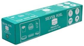 Silver Foil Food wrap Premium Aluminium Foil 72M