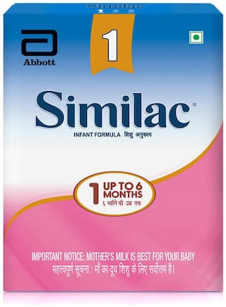 Similac Infant Formula Stage 1-400 g, up to 6 months (Pack of 1)