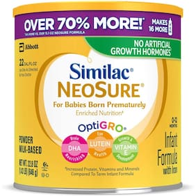 Similac Neosure 012 Months Infant Formula With Iron 646g (Pack of 1)