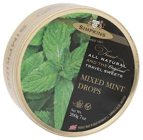 Simpkins  Travel Sweets - Mixed Mint  200 g Tin
