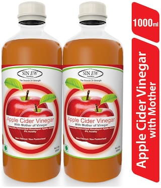 Sinew Apple Cider Vinegar With Mother of Vinegar- 500 ml Pack of 2