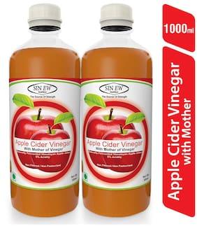 Sinew Apple Cider Vinegar With Mother of Vinegar- 500 ml Pack of 2