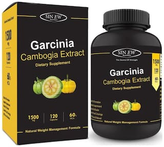 Buy Sinew Nutrition Garcinia Cambogia Extract 1500 Mg 120 Capsules