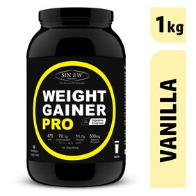 Sinew Nutrition Weight Gainer Pro With Digestive Enzymes Vanilla 1 kg