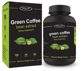 Sinew Nutrition Green Coffee Beans Extract 700 mg 60 Caps