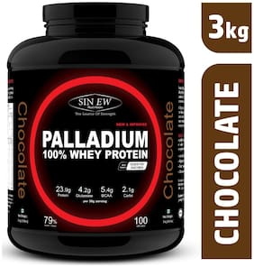 Sinew Nutrition Palladium Whey Protein With Digestive Enzymes 3 kg (Chocolate)