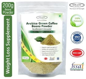Sinew Nutrition Green Coffee Beans Powder 200 g For Weight Management