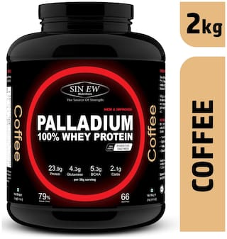 Sinew Nutrition Palladium Whey Protein With Digestive Enzymes 2 kg (Coffee)