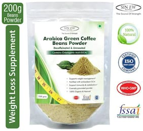 Sinew Nutrition Arabica Green Coffee Beans Powder 200 gm