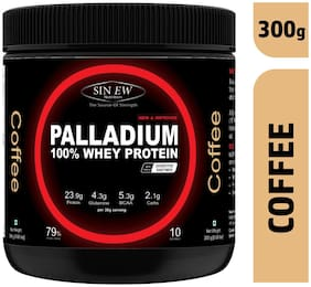 Sinew Nutrition Palladium Whey Protein With Digestive Enzymes 300 gm (Coffee)