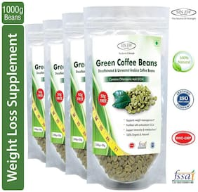Sinew Nutrition Green Coffee Beans 800 g + 200 g Free (250 g X 4 pcs.)
