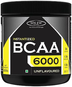 Sinew Nutrition Instantized BCAA 2:1:1 200 g /0.44lb (Unflavoured)