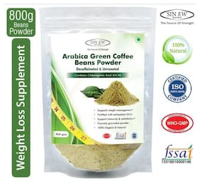 Sinew Nutrition Green Coffee Beans Powder 800 gm For Weight Management