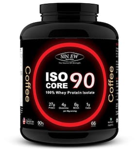 Sinew Nutrition Isocore 90 Whey Protein Isolate 2 kg - Coffee Flavour