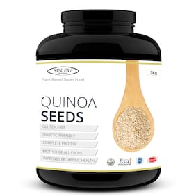 Sinew Nutrition White Quinoa Seeds 5 kg